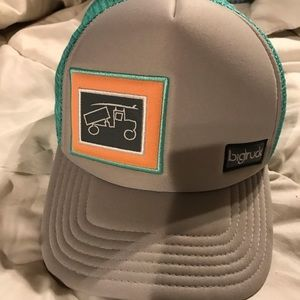 "Accessories - ""Big Truck"" women's surf-truck trucker hat"